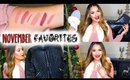 November Beauty & Fashion FAVORITES 2014