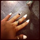 Black&White Nails