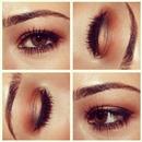 auburn eyeshadow