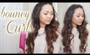 Valentine's Day Hair Tutorial - Bouncy Luscious Curls! | Charmaine Manansala