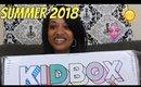Kidbox Summer 2018 Unboxing | Size 6