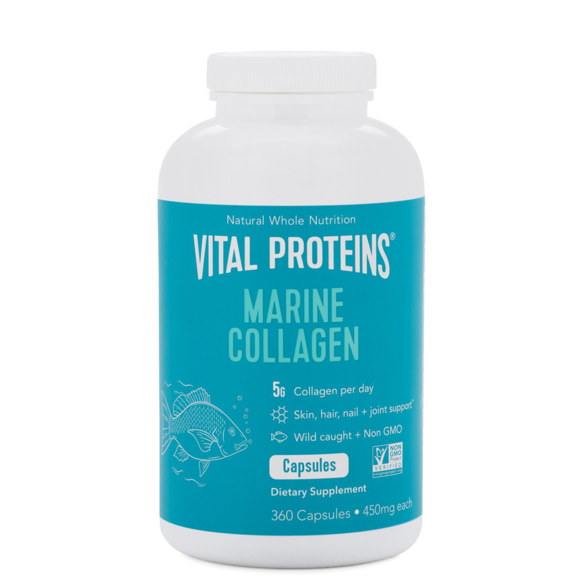 Vital Proteins Marine Collagen Capsules product swatch.