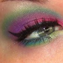 Colorful Blended Look:)