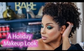 A Holiday Makeup look | Green Smokey Eye @Beautybylee