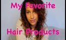 My Most Favorite Hair Products At The Moment