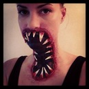 Halloween monster mouth.
