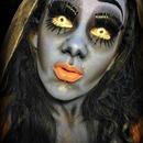 Corpse Bride makeup