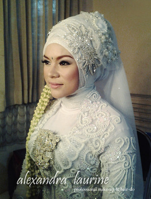 thanks to Qory 17-02-2013 the wedding day