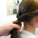 Easy Cute Pony Tail And Only Hair And A Elastic Band Needed!