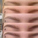 My brow tutorial