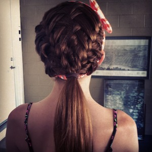This picture is mine ! This is my hair :)