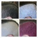 @tamarahmua pink hair shaved head