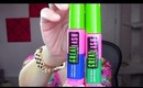 Maybelline Colored Mascara in Blink of Blue Review