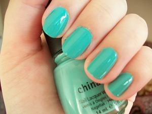 China Glaze For Audrey  To read my review of the polish please visit my blog:  www.mazmakeup.blogspot.com