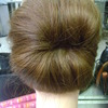 Wedding Updo (back view)