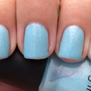 Hate baby blue, love this polish... go figure!