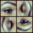 Bronze Glitter Eye