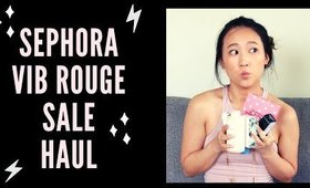 what I picked up (& returned..) from the vib rouge sephora sale 2019