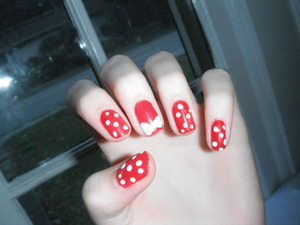 Had a sophomore or junior do these on me- lovin' em(: