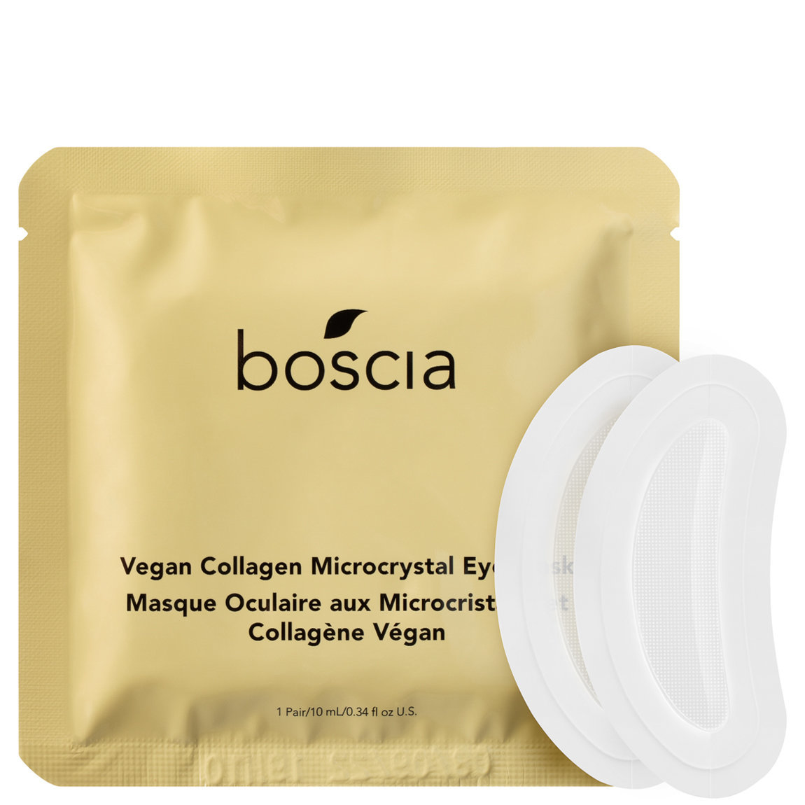 boscia Vegan Collagen Microcrystal Eye Mask alternative view 1 - product swatch.