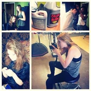 Photography: Emilia Gaston Makeup: Me Stylist: Chelcie Guidry Models: Stephanie Darnell & Alayne Ballentine