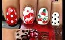 Pin Up Inspired Nails by The Crafty Ninja