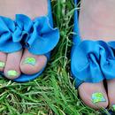 Springtime feet!