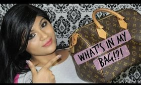 ♡ What's in my bag?! | | Collab with Ammeta | | ♡