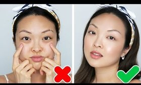 6 Clever Tricks To Flawless Skin With NO FOUNDATION!