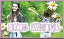 HIKING ☼ ESSENTIALS: OUTFITS + SNACKS!