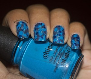 http://www.bellezzabee.com/2013/03/nail-challenge-day-6-favorite-color.html