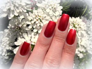 http://beautybysuzi.blogspot.com/2012/05/bordeaux-nails.html • Gabriella Salvete Enamel With Hardener, 109