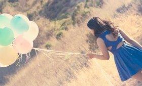 Vlog: Pastel Balloons Birthday Photoshoot | Cyexquisite