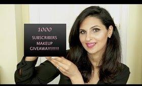1000 Subscriber GIVEAWAY INTERNATIONAL   Makeup Revolution + Ma , 2 x Winners   ( OPEN )
