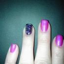 Pink w zebra stripe