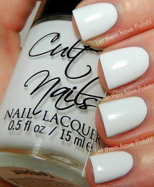 The perfect White Creme!