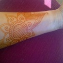 Henna Flower Tattoo