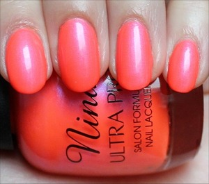 See more detailed swatches & my review: http://www.swatchandlearn.com/nina-ultra-pro-pearly-brights-swatches-review/