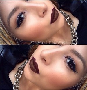 Fall lips Kat Von D vampira