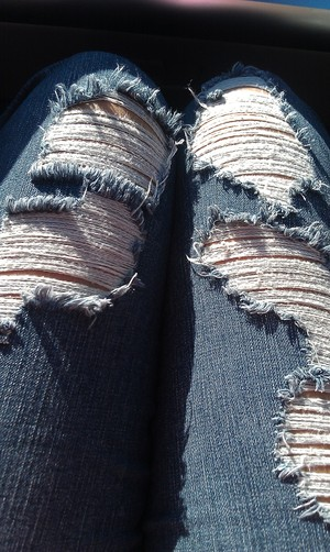 Rue 21 Destroyed Jeans