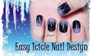 Icicle Nail Design (for short nails) - Day 3