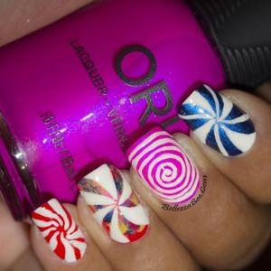 Blog post here: http://www.bellezzabee.com/2014/01/californails-january-nail-art-challenge_19.html