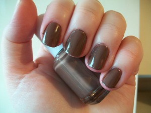 Essie Mink Muffs Nail Polish  This polish is part of my 'Top 10 Autumn/ Fall & Winter Nail Polishes' blog post. Please click on the link below to read the full list!  http://www.mazmakeup.blogspot.com