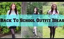 Back To School Lookbook | shivonmakeupbiz ♥