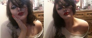 I liked the way I looked from my webcam...so I took some shots.