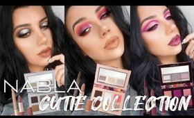 NABLA Cuties Collection!  Three Looks + Review