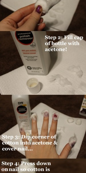 The ULTIMATE How To... How to Remove Glitter Nail Polish! After trying this you'll never be afraid to try glitter nail polish again!! http://livingaftermidnite.blogspot.com/2012/12/how-to-remove-glitter-nail-polish.html