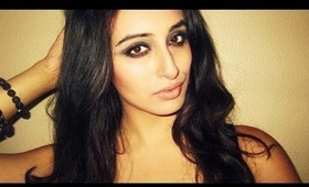 Smokey Indian Makeup-How to use the Naked 2 Palette