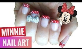 3D Bow Disney Minnie Nail Art ♡ EASY