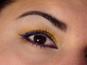 Yellow with Purple Pop